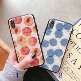 菱形砖石纹苹果手机壳批发