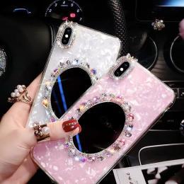 贝壳纹镜子DIY手机壳批发