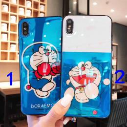 哆啦A梦正品TPU蓝光手机壳蓝色版